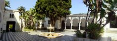 Algiers, Algeria (Bardo Museum. Love these fountains in the middle of the buildings. I need one in my dream home)