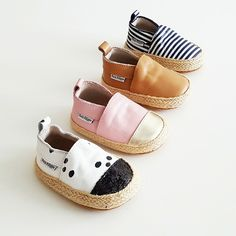 Uber cute little baby espadrilles Cute Baby Shoes, Baby Girl Shoes, Girls Shoes, My Baby Girl, Baby Baby, Baby Girl Fashion, Toddler Fashion, Kids Fashion, Cute Little Baby