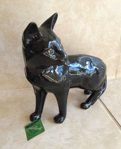 Beswick Black Siamese Cat | eBay