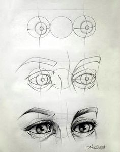How to Draw an EYE (28) …:
