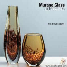Immerse yourself in the elegant world of #MuranoGlass. Shaped to an amazing precision, this is an exclusive piece of art with which you can add a touch of old-fashioned luxury to any room. #Homedecor #MuranoGlass   Check for 'Vetro Artistico® Murano' seal of guarantee when buying a Murano glass product! Visit www.muranoglass.com
