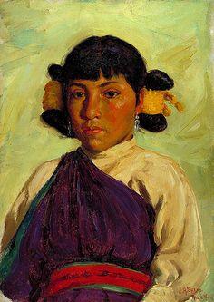 Do-re-tah, Hopi, by Joseph Sharp 1859-1953)