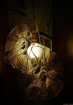 Borealis lamp by Miu Iulia on deviantART My Arts, Deviantart, Metal, Handmade, Design, Hand Made, Metals, Handarbeit