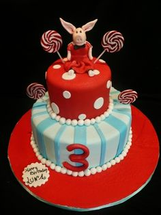 Cake, minus the lollipops
