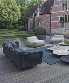Paola Lenti | Sofa | Hand woven | Garden | Easy Chair | Float | Outdoor