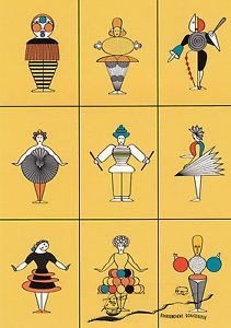 oskar schlemmer - ค้นหาด้วย Google Bauhaus Art, Bauhaus Design, Ludwig Meidner, Libros Pop-up, Ludwig Mies Van Der Rohe, Josef Albers, Arts And Crafts Movement, Clipart, Art History