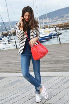 Navy look | Jenny.gr