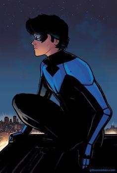 The perfect Nightwing Batman Dc Animated GIF for your conversation. Batman Art, Batman Comics, Gotham Batman, Richard Grayson, Robin Dc, Dc World, Bat Boys, Marvel E Dc, Dc Comics Characters