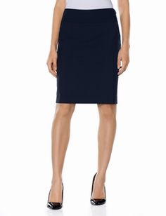 Collection Wide Band Pencil Skirt