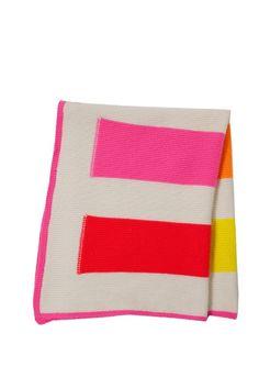Yoyo Cashmere Stripes Baby Blanket
