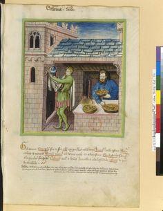 Tacuinum Sanitatis - BNF Ms. Latin 9333 Date: Rhineland, mid- 15th century.  fol 74r Sülze