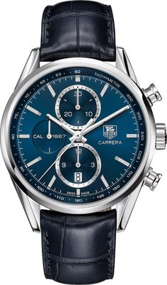 @tagheuer Watch Carrera #bezel-fixed #bracelet-strap-alligator #brand-tag-heuer�