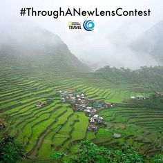 @homeboundblues shared a moody foggy day shot of the Ifugao Rice Terraces of the Philippine Cordilleras. Enter the @TransitionsLenses See Life Through A New Lens Instagram Photo Contest for your chance to win a trip to Alaska. Upload images to Instagram f