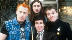 """The BBC's director of television Danny Cohen called Rik Mayall a """"truly brilliant comedian"""". """"His comic timing was outstanding and his screen presence unique. For a generation of viewers he was a true comedy hero."""""""