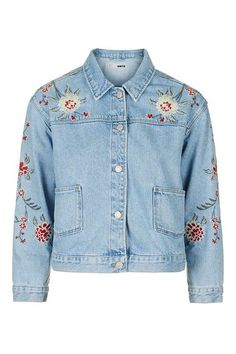 MOTO Embroidered Jacket