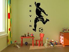 large soccer ball wall decals - Google Search