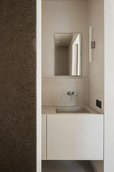 Undermount Sink, Bathroom Inspiration, Bathroom Ideas, Wabi Sabi, Contemporary Interior, Bathroom Interior, Minimalism, Interior Design, Simple Interior