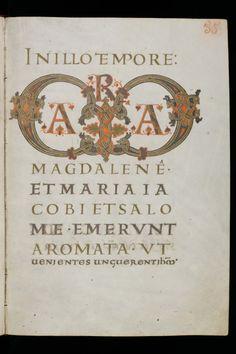 St. Gallen, Stiftsbibliothek, Cod. Sang. 54, p. 55 by Virtual Manuscript Library of Switzerland http://flic.kr/p/cTLFg1