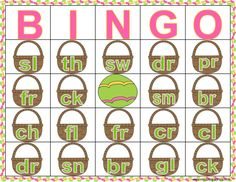 Use Jelly beans or mini chocolate eggs as bingo markers to practice consonant clusters and consonant digraphs! Consonant clusters, consonant digraphs, Easter bingo, Spring reading games, Easter consonant cluster game, Easter consonant cluster worksheets, Spring consonant digraph worksheets, Easter consonant cluster and digraph practice, phonics bingo, Easter phonics bingo, consonant cluster ID bingo, consonant cluster, consonant digraph, Easter reading practice.
