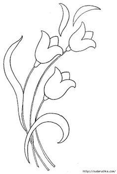 Floral motifs stencil .. Discussion on LiveInternet - Russian Service Online Diaries