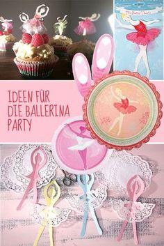 Mit Tutu und Tamtam – so feiert eine Ballerina Geburtstag! | Mädchen | Mottos | Geburtstagsideen | Tambini