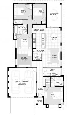 4 bedroom house plans & home designs | celebration homes | for the