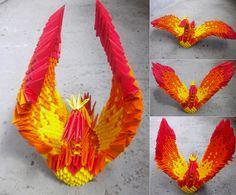3D Origami Dragon   40 Beautiful Examples of Origami Artworks