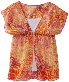 Amy Byer Girls 7-16 Print Chiffon Kimono Sleeve Twofer Blouse, Pink, Medium. From #Amy Byer. List Price: $36.00. Price: $25.20