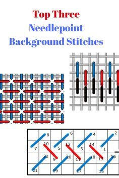 Needlepoint Stitches Stitch Diagrams World War 1 Trench Diagram 520 Best Images Handarbeit Embroidery Three Great Background How To Work Them Where Use And