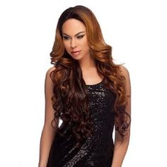 Harlem 125 Xtra Long Synthetic Lace Front Wig LL003