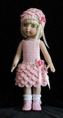 Crocheted-Dress-Hat-for-10-Tonner-Ann-Estelle-Patsy