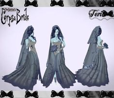 ✿ ¸. • * ¨ * • ☆Just out of Peer!☆ ¸. • * ¨* • ✿  ✮CORPSE BRIDE COSTUME BUNDLE: http://www.imvu.com/shop/product.php?products_id=21870954  *Comes with dress, veil, gloves, bouquet, ring, shoes, skin, head, hair, and eyes.  ✿My Full Catty: http://www.imvu.com/shop/web_search.php?manufacturers_id=95572994  ✮✮✮ VERY special thanks to Wing Imvu for meshing the fabulous head, and Severity Imvu for creating the wonderful skin!   ✿☆ ¸. • * ¨ * • ☆Just out of Peer ☆ ¸. • * ¨* • ☆✿