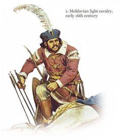 Moldavian Light Cavalry Early XVIth century - Angus McBridge
