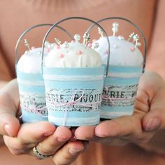 Pint Sized Pincushions Project
