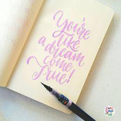 Lettering practice… #calligrafikas #grafikas #dreweuropeo #moderncalligraphy #lettering #handlettering #brushlettering Paper: Moleskine blank notebook Pen: Zig Brush Writer