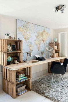 J'aimerais avoir un coin bureau comme celui-là