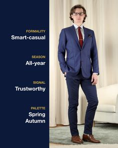 My smart-casual office outfit 👔 colors: navy, light blue, and burgundy Smart Casual Office, Smart Casual Outfit, Casual Outfits, H Style, Spring Colors, Office Outfits, Sustainable Fashion, Light Blue, Burgundy