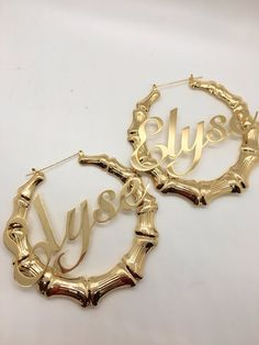 Door Knockers, 18k Gold, Bamboo, Fashion Jewelry, Hoop Earrings, Silver, Accessories, Shop, Style