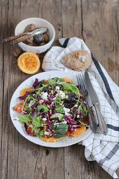 Florette - Der bunte 5-Minuten-Salat für die Adventszeit Orange