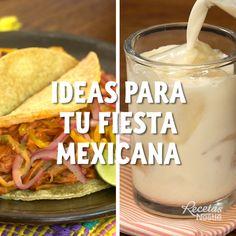 Tasty Videos, Food Videos, Mexican Dishes, Mexican Food Recipes, Ethnic Recipes, Bien Tasty, Deli Food, Good Food, Yummy Food
