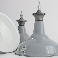 English cotton mill shades. Circa 1940 (Type 1) : Ceiling Lights : Skinflint Design