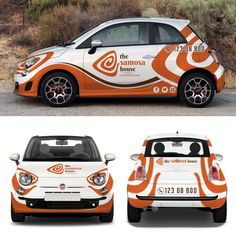 Create Eye Catching Car Wrap for Samosa Restaurant by UCILdesigns