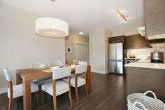 Kitchen + Dinning.  #LatisCondos #Cloverdale #FraserValley #Home #HousingDevelopment