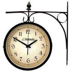 Relógio de Parede, Herweg, Resistente a Água, Preto - 6358-034 -Móveis e Decoração - Relógios - Walmart.com