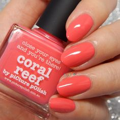 piCture pOlish Coral Reef, used 1-2x $9