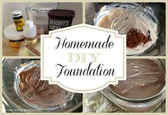 Homemade DIY Foundation - a healthy alternative to expensive makeup foundations!