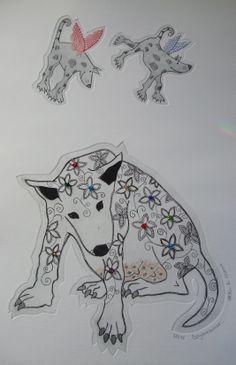 Dogs........Daydreamer by Helen D Moore