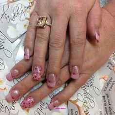 Valentines day pink French by fudog from Nail Art Gallery Valentine Nail Art, Valentines Day, Heart Nails, Top Nail, Nail Art Galleries, Nails Magazine, Nail Tech, Gel Polish, Nailart
