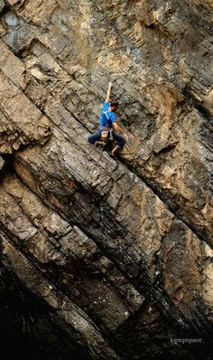 Sport climbing at The Gower