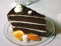 Chocolate Fudge Cake with Vanilla Buttercream Frosting and Chocolate Ganache Glaze